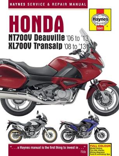 Honda Nt700V Deauville & Xl700V Transalp (06 - 13) (Hardback)