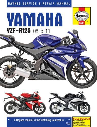Yamaha YZF-R125 (08 - 11) (Hardback)