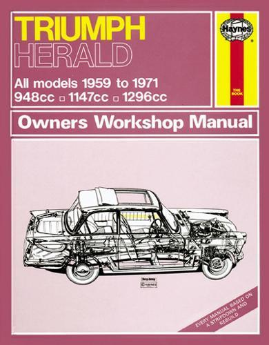 Triumph Herald Owner's Workshop Manual (Paperback)