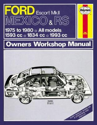 Ford Escort Mexico & RS Mk II Owner's Workshop Man (Paperback)