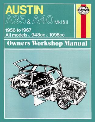 Austin A35/A40 Owner's Workshop Manual - Haynes Service and Repair Manuals (Paperback)