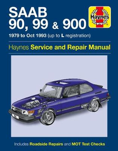 Saab 90, 99 & 900 Service And Repair Manual (Paperback)