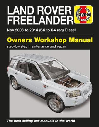 Land Rover Freelander (Nov 06 - 14) 56 To 64 (Paperback)