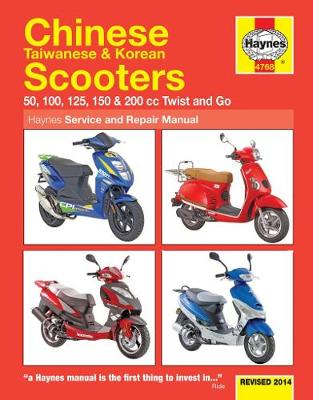 Chinese, Taiwanese & Korean Scooters Update (Paperback)