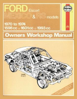 Ford Escort RS Mexico (Paperback)