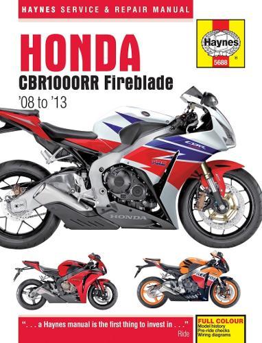 Honda CBR1000Rr Fireblade (08 To 13) (Hardback)