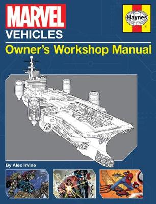 Marvel Vehicles Owners' Workshop Manual (Hardback)