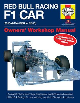 Red Bull Racing F1 Car: Owners' Workshop Manual - New Edition (Hardback)