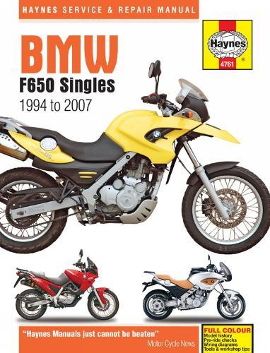 BMW F650 Singles (94-07) (Paperback)