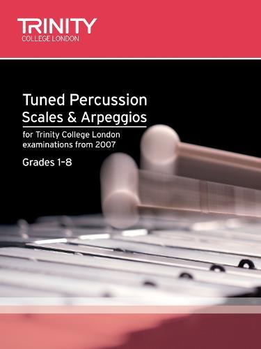 Tuned Percussion Scales & Arpeggios Grades 1-8 - Trinity Scales & Arpeggios (Sheet music)