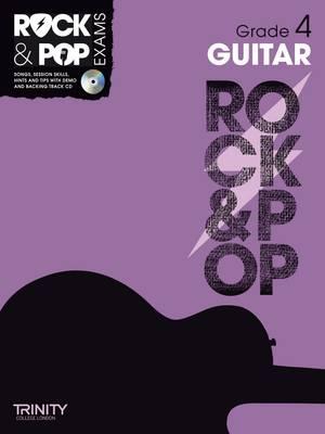 Trinity Rock & Pop Guitar Grade 4 - Trinity Rock & Pop