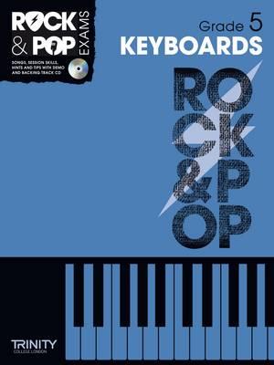 Trinity Rock & Pop Keyboards Grade 5 - Trinity Rock & Pop