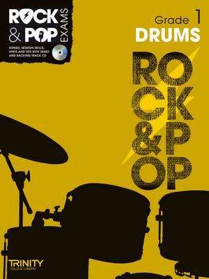 Trinity Rock & Pop Exams: Drums Grade 1 - Trinity Rock & Pop