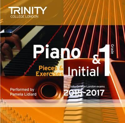 Piano Initial 2015-2017: Grade 1 (CD-Audio)