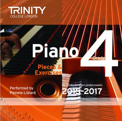 Piano 2015-2017. Grade 4 (CD) (CD-Audio)