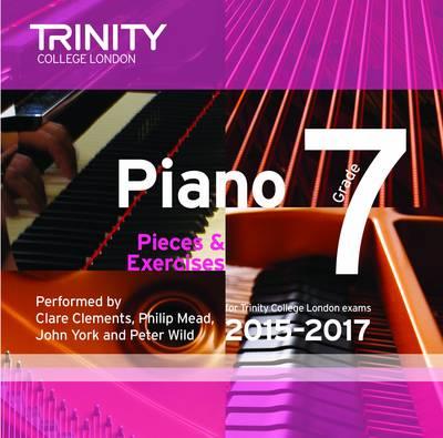 Piano 2015-2017: Grade 7 (CD-Audio)