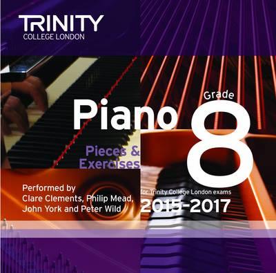 Piano 2015-2017: Grade 8 (CD-Audio)
