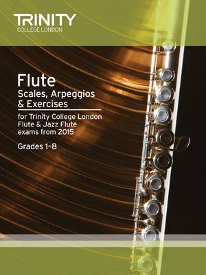 Flute Scales Grades 1-8 from 2015 (Sheet music)
