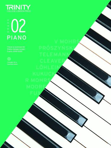Piano Exam Pieces & Exercises 2018-2020 Grade 2, with CD & Teaching Notes - Piano 2018-2020