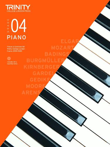Piano Exam Pieces & Exercises 2018-2020 Grade 4, with CD & Teaching Notes - Piano 2018-2020