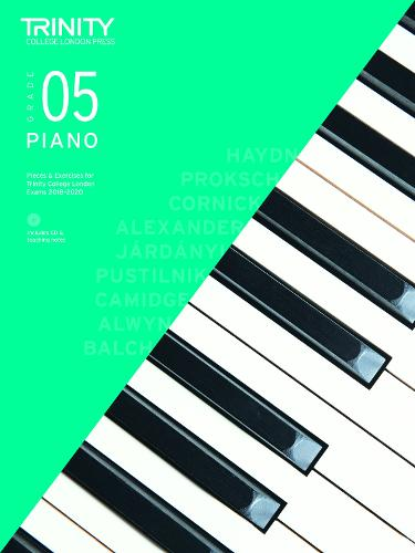 Piano Exam Pieces & Exercises 2018-2020 Grade 5, with CD & Teaching Notes - Piano 2018-2020