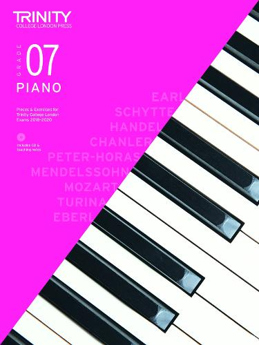 Trinity College London Piano Exam Pieces & Exercises 2018-2020. Grade 7 (with CD) (Sheet music)