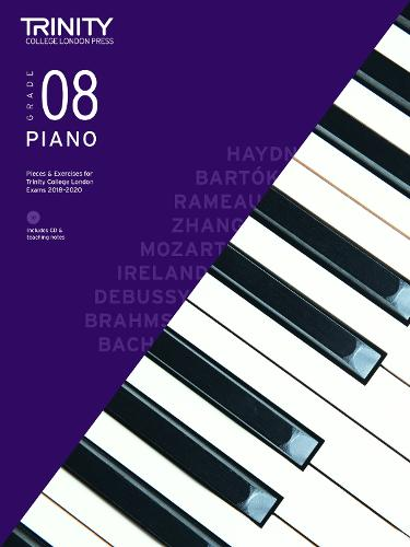 Piano Exam Pieces & Exercises 2018-2020 Grade 8, with CD & Teaching Notes - Piano 2018-2020