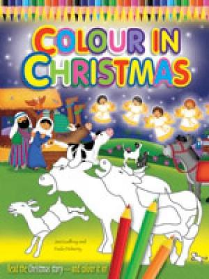Colour in Christmas (Paperback)
