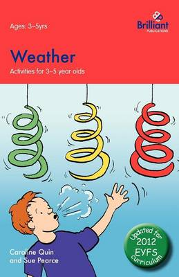 Weather - Activities for 3-5 Year Olds (Paperback)
