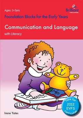 Foundation Blocks for the Early Years - Communication and Language: With Literacy (Paperback)