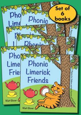 Phonic Limerick Friends pack: Rhymes for Children and their Parents and Teachers (6 book pack) (Paperback)