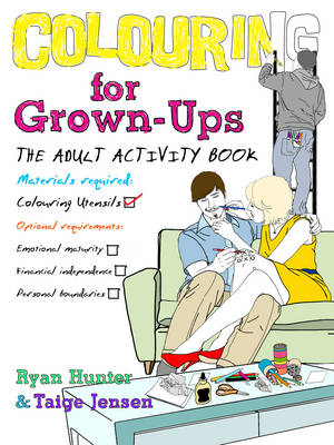 Colouring for Grown-ups: the adult activity book (Paperback)