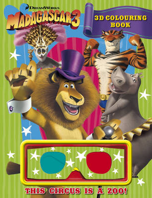 Madagascar 3: 3D Colouring Book (Paperback)