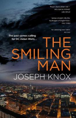 Joseph Knox launches his new novel The Smiling Man