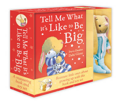 Tell Me What it's Like to be Big: Book & Toy Set (Hardback)
