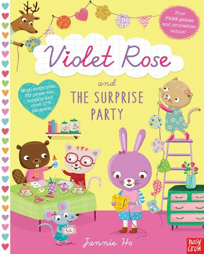 Violet Rose and the Surprise Party Sticker Activity Book - Violet Rose (Paperback)