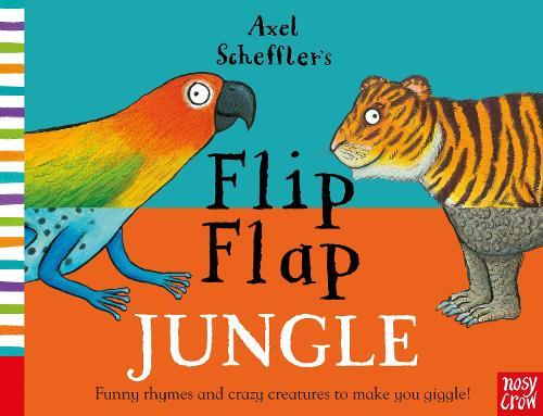 Axel Scheffler's Flip Flap Jungle - Axel Scheffler's Flip Flap Series (Board book)