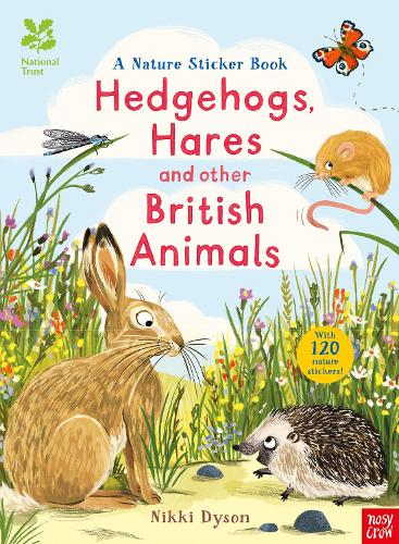 National Trust: Hedgehogs, Hares and Other British Animals - National Trust Sticker Spotter Books (Paperback)