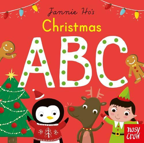 Christmas ABC - Jannie Ho's ABC (Board book)