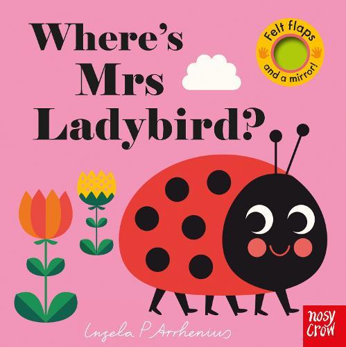 Where's Mrs Ladybird? - Felt Flaps (Board book)