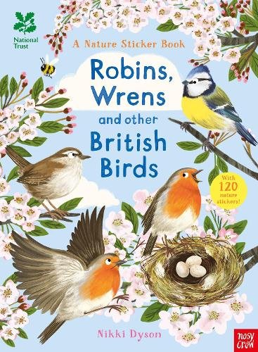 National Trust: Robins, Wrens and other British Birds - National Trust Sticker Spotter Books (Paperback)