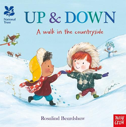 National Trust: Up and Down, A Walk in the Countryside - National Trust: A walk in the countryside (Board book)