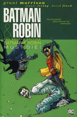 Batman and Robin: Batman Must Die! (Hardback)