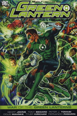 Green Lantern: War of the Green Lanterns (Hardback)