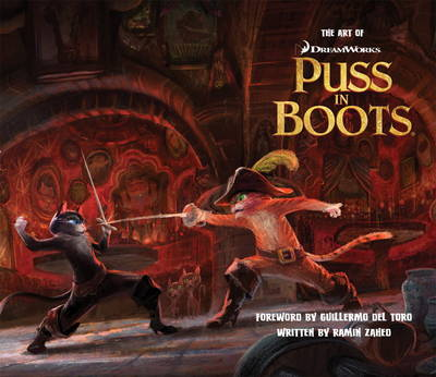 Art of Puss in Boots (Hardback)