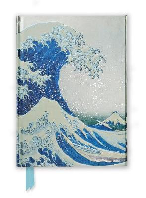 Hokusai: The Great Wave (Foiled Journal) - Flame Tree Notebooks 09