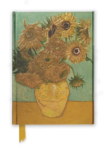 Van Gogh: Sunflowers (Foiled Journal) - Flame Tree Notebooks 12
