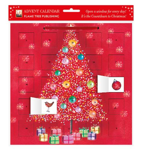 Bauble Tree advent calendar (with stickers) (Calendar)