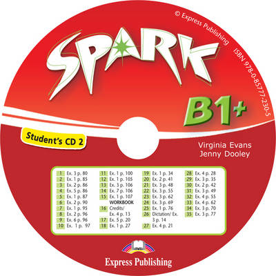 Spark: Student's Cd 2 (Italy) Level B1+ (CD-Audio)