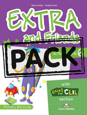 Extra & Friends: Primary 3rd Cycle Activity Pack (Spain) Level 6